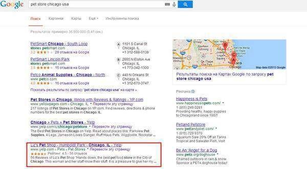 Як алгоритм Google Hummingbird вплинув на локальний пошук