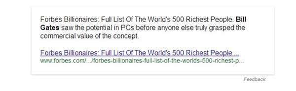 Google краде ваш контент і трафік, або Про неоднозначність нового графа знань