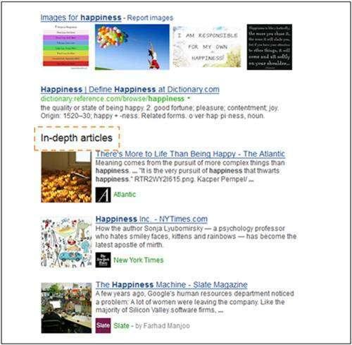 Що таке in-depth articles і як з допомогою них потрапити в ТОП видачі Google
