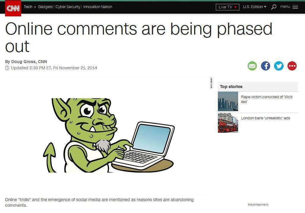 Media-engagement і тролі. Як ЗМІ борються за коментарі та з коментарями: Частина 1