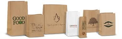 Картинки по запросу Крафт пакети з логотипом!!!!